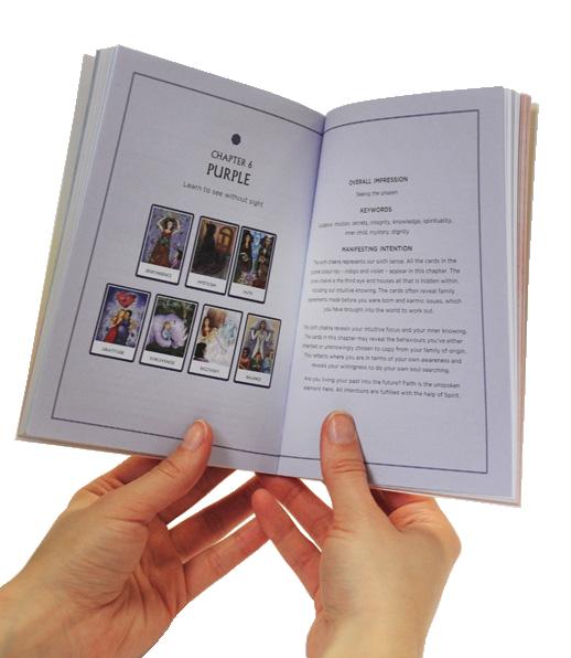 chakra wisdom oracle card workbook